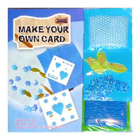 Make Your Own Card - Blå - 51401