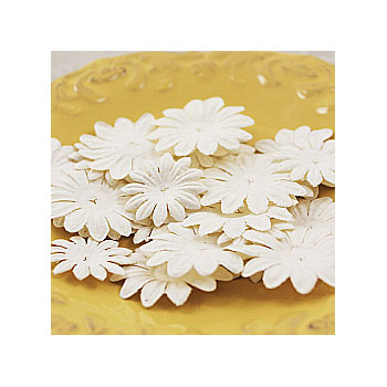 Blommor - Daisy Delicacies - White 30 st - 300159