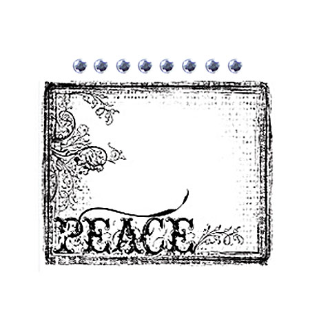 Clearstamps - Peace - 531294