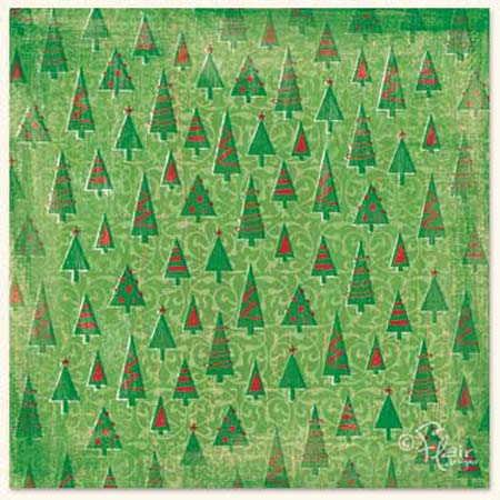 Papper - Flair Designs - Oh Christmas Tree - Bs0305g