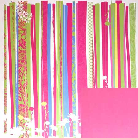 Papper - Deja Views - Cherry Garden Stripes - Dvfp450