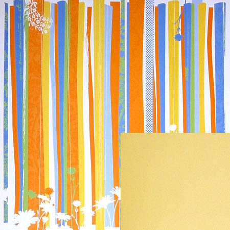 Papper - Deja Views - Mango Garden Stripes - Dvfp470