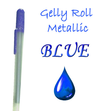 Gelly Roll Penna - Metallic - Blue 536