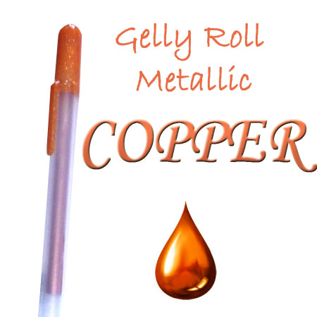 Gelly Roll Penna - Metallic - Copper 554