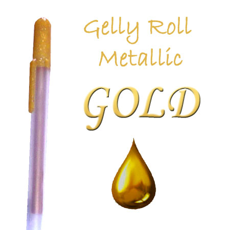 Gelly Roll Penna - Metallic - Gold 551