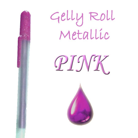 Gelly Roll Penna - Metallic - Pink 520