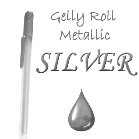 Gelly Roll Penna - Metallic - Silver 553