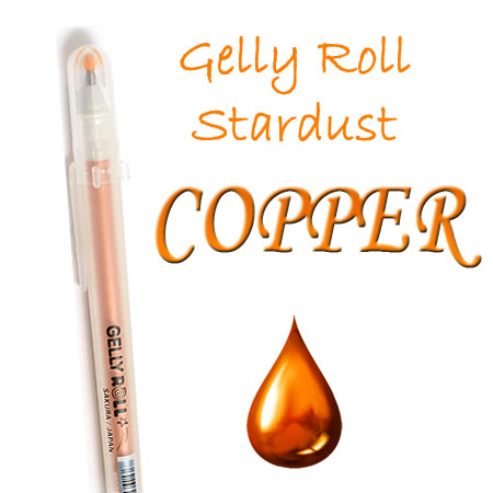 Gelly Roll Penna - Stardust - Copper 705