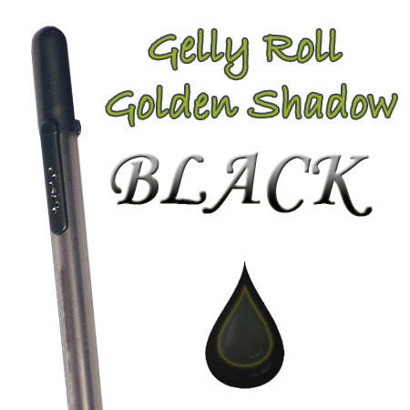 Gelly Roll Penna - Golden Shadow - Black 655