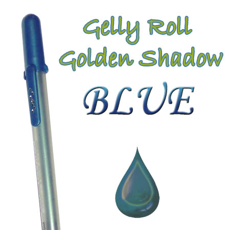 Gelly Roll Penna - Golden Shadow - Blue 654