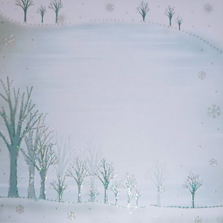 Glitterpapper - Best Creation - Frosty Christmas - GP083