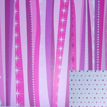 Glitterpapper - Best Creation - Dare To Dream Stripes - GP222