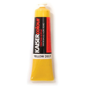 Akrylfärg - Deep Yellow - 75 ml - KC006