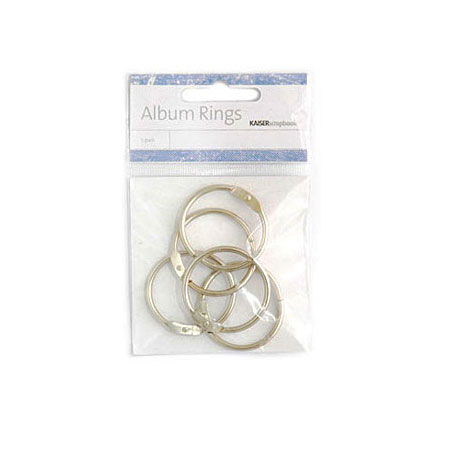 Metall Ringar Till Album - Metall - M009