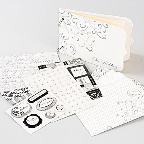 Album - Wedding Mini Book Kit - 171 Delar - 31257