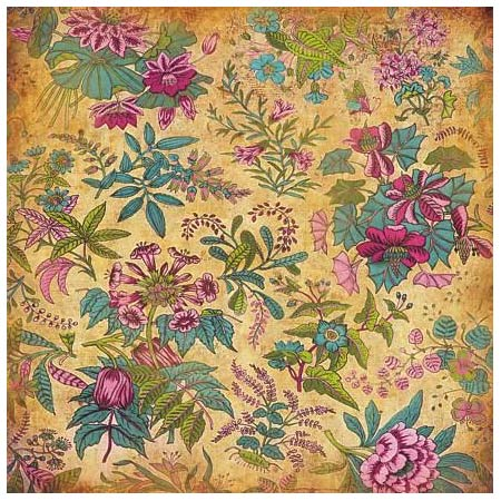 Papper - Deco Design - Paradise Flowers - S234