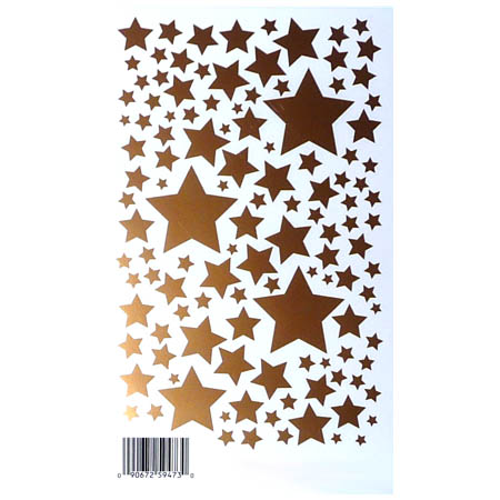 Rub Ons - Stars Of Gold - ROY-952GD