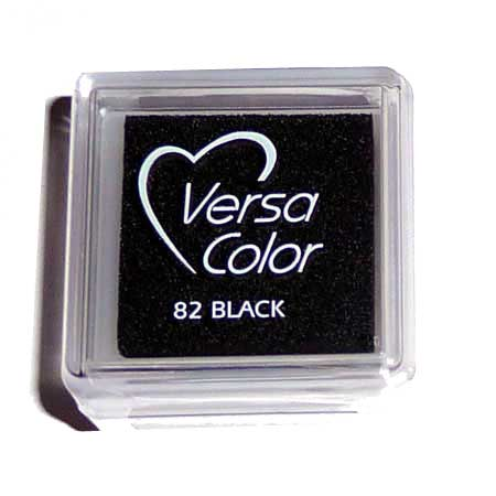 Stämpeldyna - Versa Small - Black -Vs82